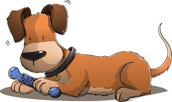 Cartoon pup image